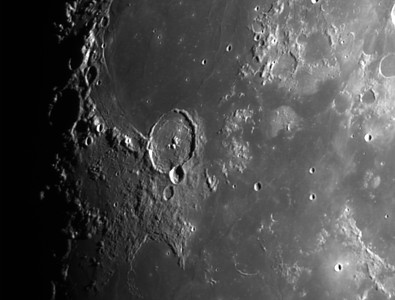 Mare Humorum with Gassendi (crater)