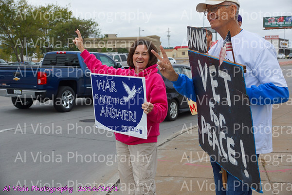 2016-10-01 Good Honking for Peace Response