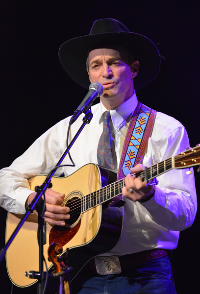 "Justin Sheely | The Sheridan Press<br /> The Dave Munsick sings during ""A Munsick Family Christmas"" Thursday at the WYO Theater."