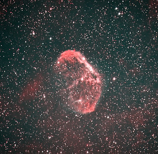 NGC6888 in Narrowband using Ha and OIII