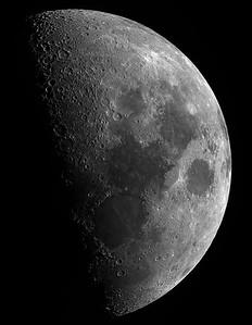 The Moon full disk