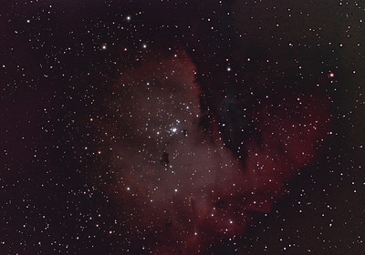 PacMan Nebula NGC 281 at 1960mm f/7
