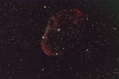 Crescent Nebula NGC 6888 at 1960mm f/7