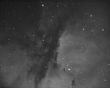 Pacman Nebula  NGC281 3nm H-Alpha