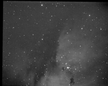 Pacman Nebula  NGC281 3nm OIII