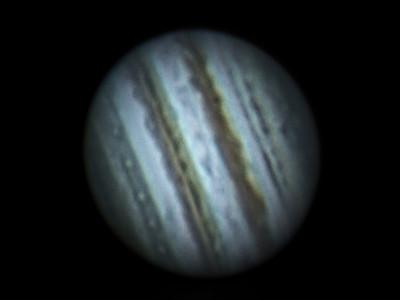 Jupiter using Tele Vue 2.5x Barlow