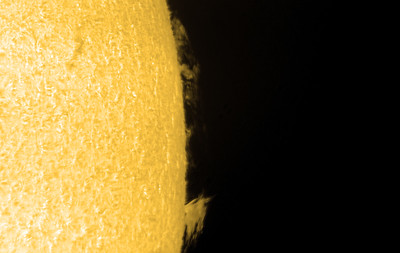 Prom Region using 2.5x Televue Barlow