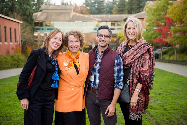 Trustees, Alumni Board, and Parent's Council Reception