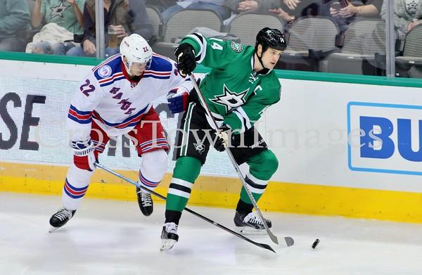 Stars vs Rangers