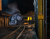 Night in the Durango yard near the sand house.