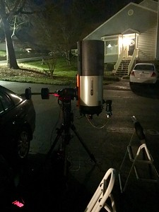 C11/HyperStar Configuration on an Orion AZ/EQ-G Equatorial Mount