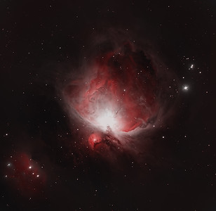 Orion Nebula M2: Bi-color capture in H-alpha and OIII. H-O-O