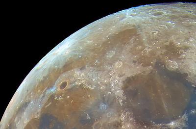 Plato Crater, Mare Imbrium, Mare Serenitatis