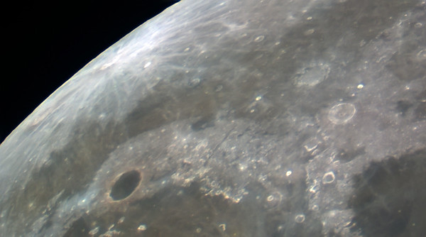 Plato (crater) and Mare Imbrium