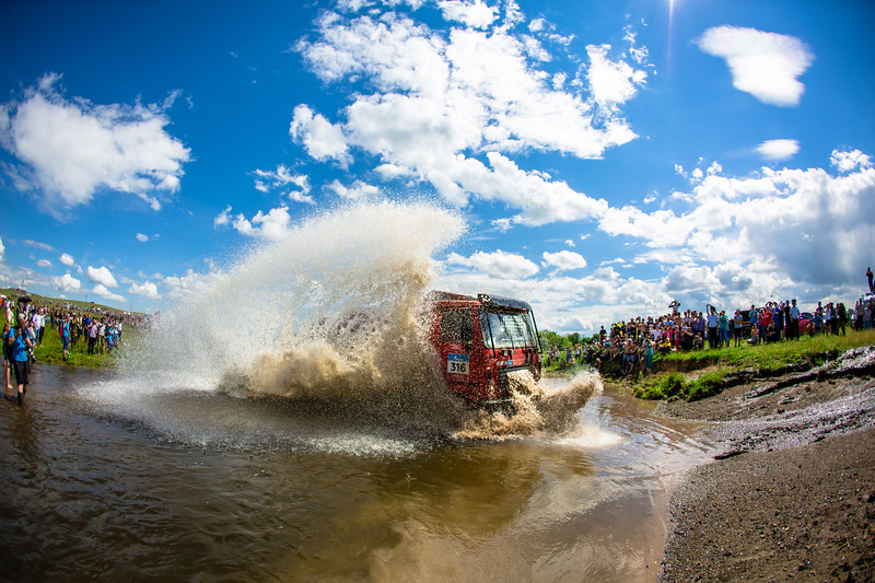 the Silk Way Rally 2017, Stage 3, Ufa - Kostanay,  July 10, Russia