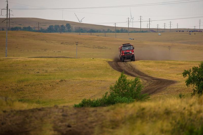 the Silk Way Rally 2017, Stage 5, Astana - Semey,  July 12, Kazakhstan