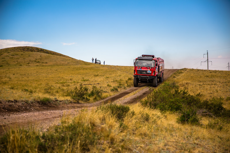 the Silk Way Rally 2017, Stage 5, Astana - Semey,  July 12, Kazakhstan