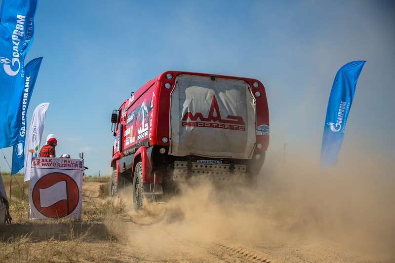 the Silk Way Rally 2017, Stage 7, Urdzhar - Karamay,  July 14, Kazakhstan