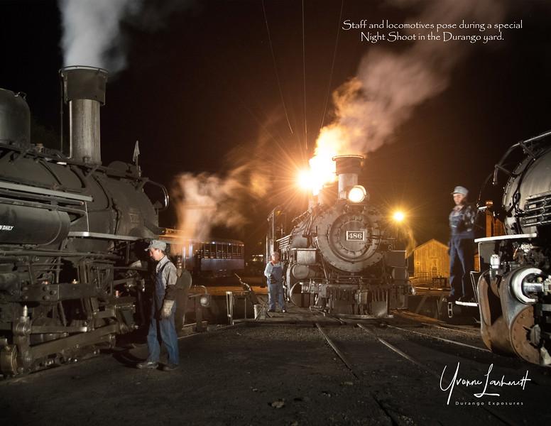 Night Shoot in the Durango Yard