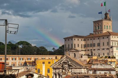 Il  Palazzo del Quirinale, Roma, Italy