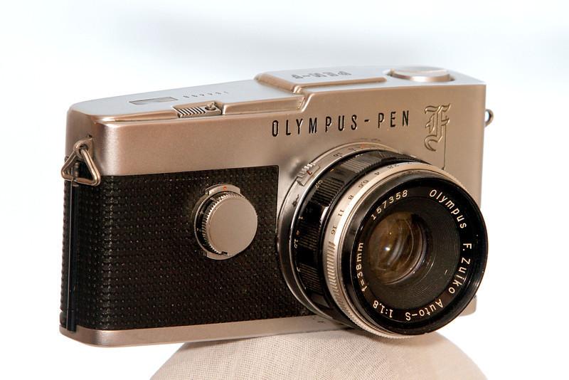 Olympus Pen F Half Frame Camera