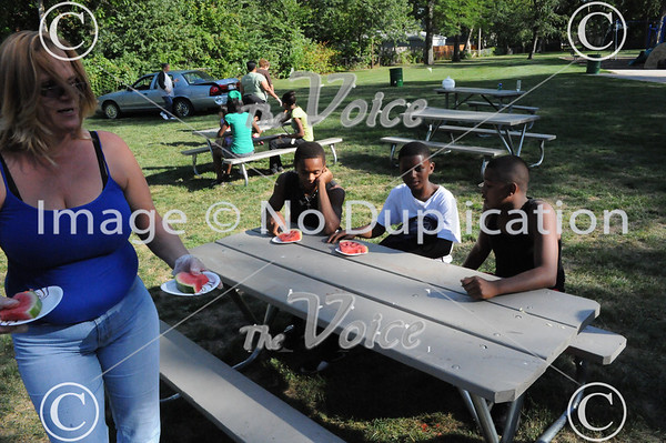 35th Annual Soulfest at May Street Park in Aurora, IL 8-18-12