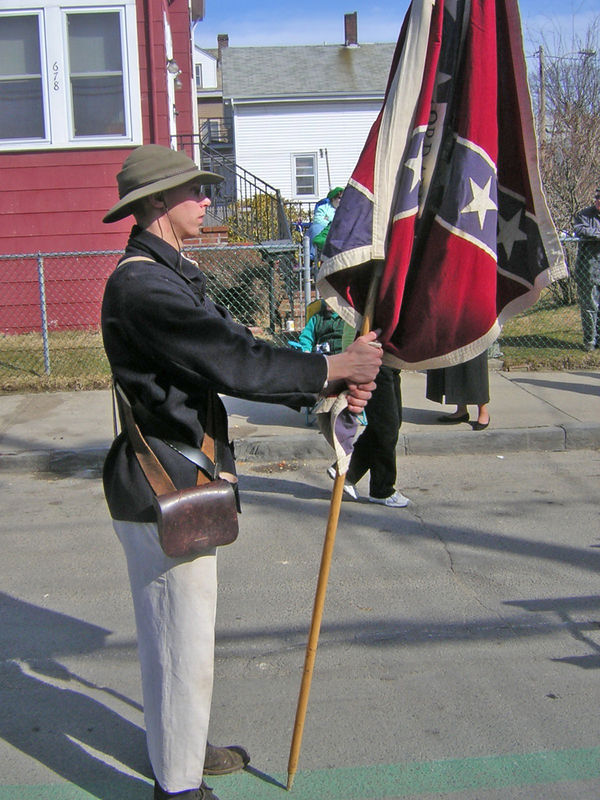 carried the 3rd Arkansas regimental colors.