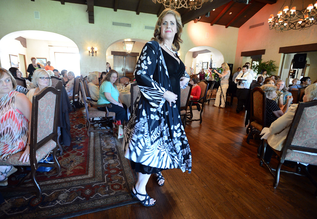 . The 4th annual �Love Your Mentors� Fashion Show & Silent Auction will benefit the Women Guiding Women: Cancer Support and Education mentor program at the MemorialCare Breast Center at Long Beach Memorial.  Survivors took to the runway at the Virginia Country Club Thursday afternoon.  Long Beach Calif,  Thursday,  March 6,  2014.   (Photo by Stephen Carr / Daily Breeze)