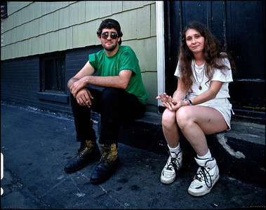 deadend couple on stoop