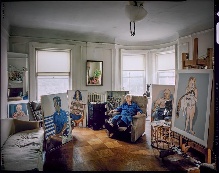 1980 Alice Neel Studio