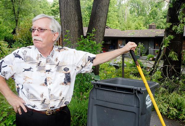 Stu Hirsch | The Herald Bulletin<br /> Storm damage