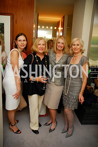 Ludmila Cafritz,Ellen Bennett,Rhona Friedman,Willee Lewis, A Birthday Tea for Willee Lewis,May 26,2011,Kyle Samperton