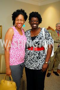 Shani Simpson,Jonelle Henry,Book party for Bob Graham,June 14,2011,Kyle Samperton