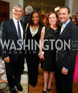 Paul Anderson,Jocelyn Moore.Elizabeth Provenzano,John Provenzano,Book party for Bob Graham,June 14,2011,Kyle Samperton