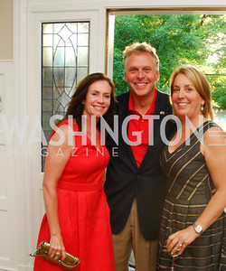 Dorothy McAuliffe,Terry McAuliffe,Lynne O'Brien,Book party for Bob Graham,June 14,2011,Kyle Samperton