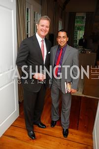 Tom Gibson,Farooq Mitha,Book party for Bob Graham,June 14,2011,Kyle Samperton