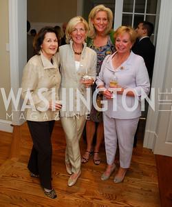 Sue Alfantis,Nancy McCorkindale,Cynthia Vance,Pat Norton,Book party for Bob Graham,June 14,2011,Kyle Samperton