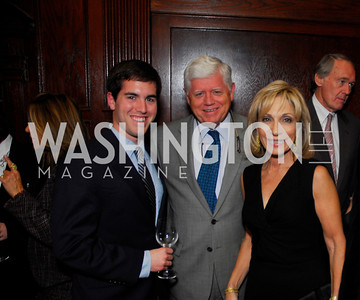 Matt Larsen, John Larsen, Andrea Mitchell, A Book Party for Chris Matthews, November 2, 2011, Kyle Samperton