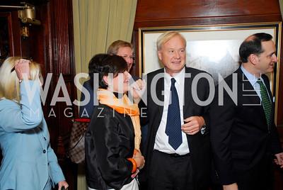 Courtney Pastrick, Scott Pastrick, Chris Matthews, A Book Party for Chris Matthews, November 2, 2011, Kyle Samperton