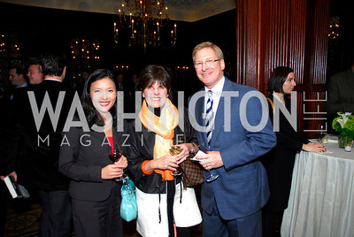 Esther Lee, Courtney Pastrick, Scott Pastrick, A Book Party for Chris Matthews, November 2, 2011, Kyle Samperton