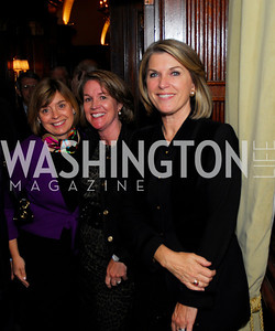 Carol Sietz, Sherry Cunningham, Kathleen Matthews, A Book Party for Chris Matthews, November 2, 2011, Kyle Samperton