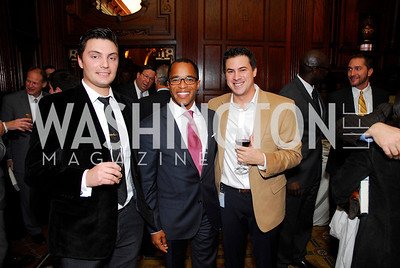Robert Thompson, Jonathan Capehart, Michael LaRosa, A Book Party for Chris Matthews, November 2, 2011, Kyle Samperton