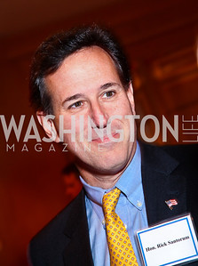 The Honorable Rick Santorum. A Celebration honoring the Republican Freshmen of the 112th Congress. Photo by Tony Powell. Four Seasons Hotel. February 15, 2011