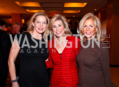 Edie Emery, Katherine Wood, Susan Hurley Bennett. A Celebration honoring the Republican Freshmen of the 112th Congress. Photo by Tony Powell. Four Seasons Hotel. February 15, 2011