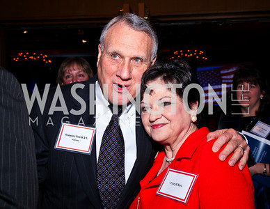 Senator Jon Kyl and Carryl Kyl. A Celebration honoring the Republican Freshmen of the 112th Congress. Photo by Tony Powell. Four Seasons Hotel. February 15, 2011