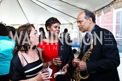Dora Johns, Diana Waters, Marshall Keys. Photo by Tony Powell. A Night of Broadway Stars. THEARC. May 19, 2011