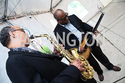 Marshall Keys, Tarus Mateen. Photo by Tony Powell. A Night of Broadway Stars. THEARC. May 19, 2011