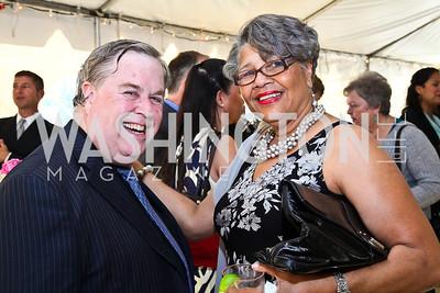 Tom Kennedy, Judith Dobbins. Photo by Tony Powell. A Night of Broadway Stars. THEARC. May 19, 2011