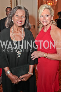 Former First Lady of Barbados Lady Stella St. John, Deborah Sigmund. A Night to Benefit the Fight Against Child Trafficking. Mayflower Hotel. October 19, 2011. Photo by Alfredo Flores