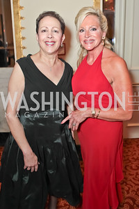 Marilyn Harris, Deborah Sigmund. A Night to Benefit the Fight Against Child Trafficking. Mayflower Hotel. October 19, 2011. Photo by Alfredo Flores